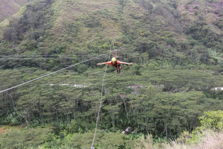 canopy en santa teresa vuelo del condor
