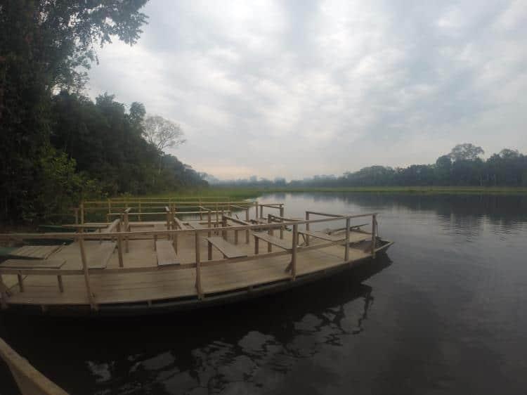 barco lago tres chimbadas