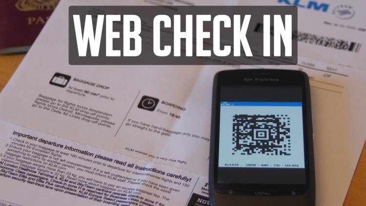 web check in